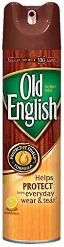 Old English Furniture Polish, Lemon 12.5 oz Can (Pack of 8)