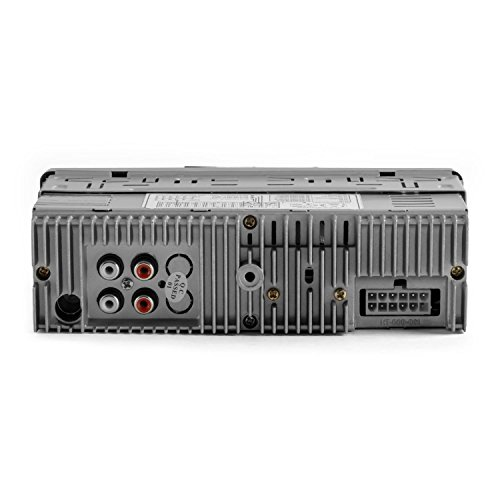 chic Auna MD-640 - Autoradio Bluetooth design moderne avec ports USB/SD et contrôle par appli smartphone (support iphone inclus, kit mains libres, RDS) - noir