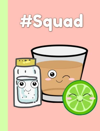 Squad: Best friend gifts for three people,3,Women,Teen,Girls, Notebook , Lined Paper ,Journal, -