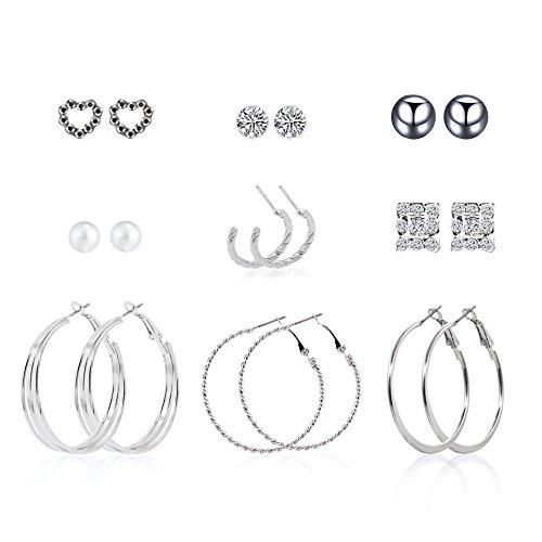 Zealmer Earring Assorted Multiple Earrings