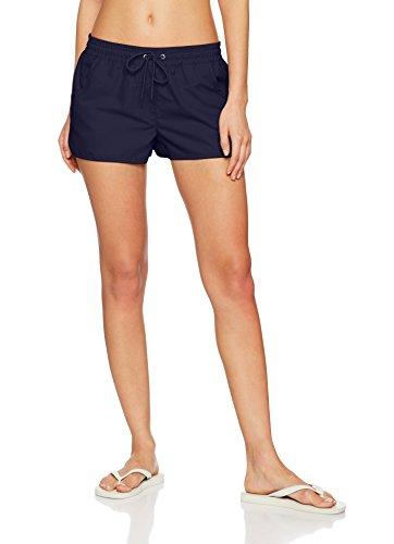 ESPRIT Bodywear Havana Beach Acc Woven Short, Bañador para Mujer Azul (Navy)