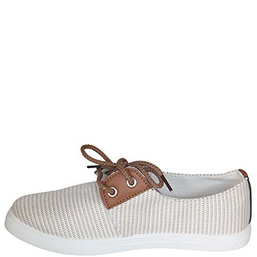 fifteen - zapatos con cordones Mujer Beige - beige