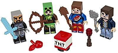 LEGO Minecraft Minecraft Skin Pack 1 853609 Buildinig Kit (25 Piece) from LEGO