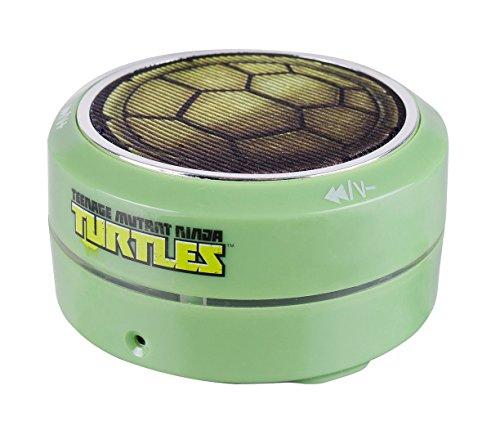 Price comparison product image Teenage Mutant Ninja Turtles 55765 Bluetooth Round Speaker-Shell Design