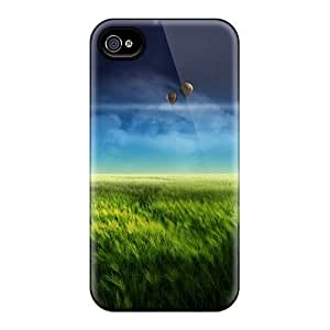 Case Cover Floating Island Blue/ Fashionable Case For Iphone 4/4s