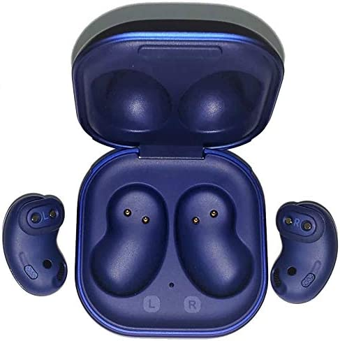Samsung Galaxy Buds Live (ANC) Active Noise Cancelling TWS Open Type Wireless Bluetooth 5.0 Earbuds for iOS & Android, 12mm Drivers, International Model - SM-R180 (Mystic Blue - Limited Edition)