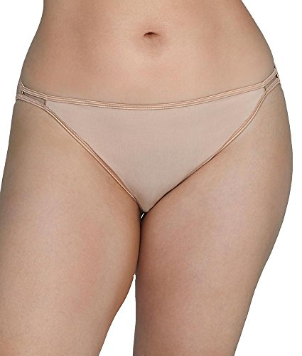 Vanity Fair Women's illumination Plus Size Bikini Panty 18810, Rose Beige, 2X-Large/9 (Rose Bikini Panty)