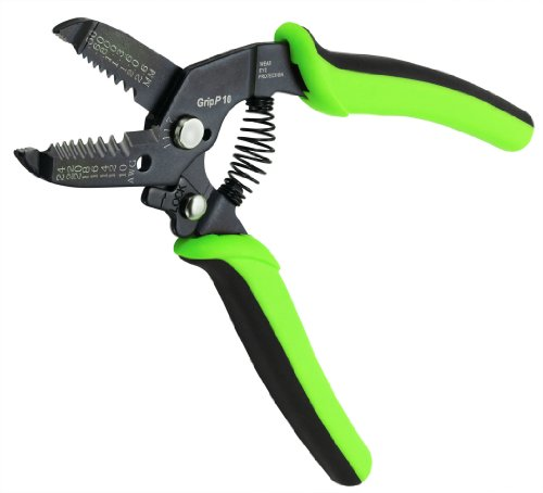 Greenlee Communications 1117 Gripp 10 Wire Stripper Cutter  24 10 Awg