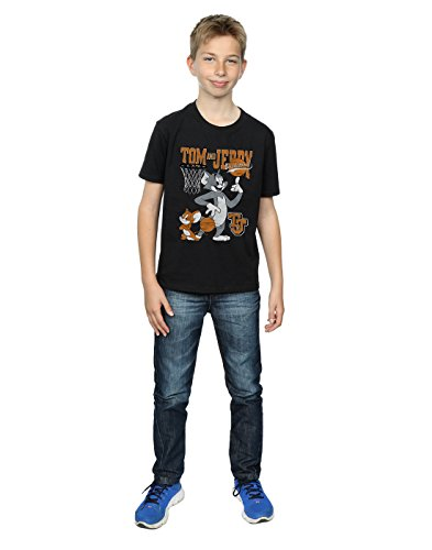 Spinning Boy negra Tom Absolute Jerry Cult Camiseta And de de baloncesto axHOqEz