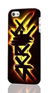 Skrillex Pattern Image -Kalma Islamic Pattern Image - Protective 3d Rough Case Cover - Hard Plastic 3D Case - For iPhone 5/5s