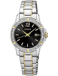 Seiko Womens SUR716 Silver Stainless-Steel Quartz Fashion Watch