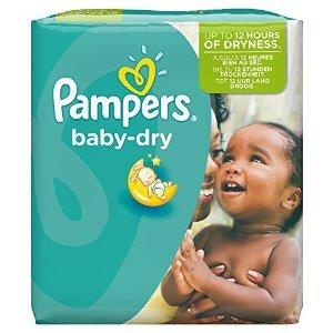 Gran valor culeros bebé seco Tamaño 5 + Junior Plus - pañales 132 unidades mensuales