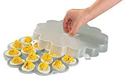Walterdrake Deviled Egg Tray With Lid