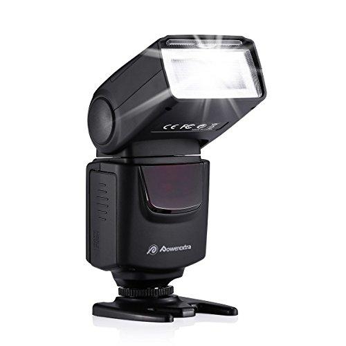 DBK® DF-400 Professional Blitzgerät für Canon Nikon Olympus Panasonic Ricoh Fujifilm Samsung Pentax Kameras