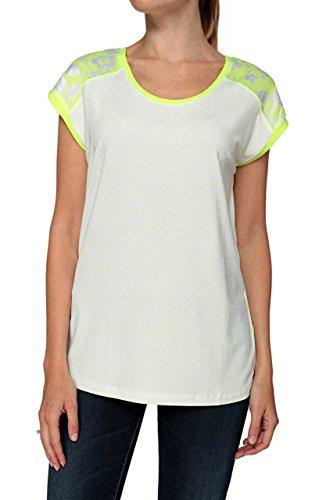 BASLER - Camiseta - para mujer Amarillo Neón