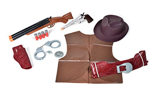 Maxx Action Wild West Deluxe Costume Dress-Up Play Set -