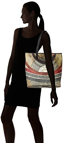 GATTINONI Gplb002 - Shoppers y bolsos de hombro Mujer Varios colores (Classico)