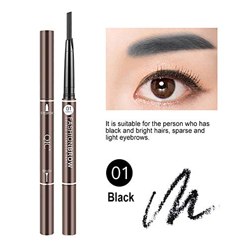 QIC 4D Waterproof Eyebrow Pencil, Waterproof Sweat-proof for sale  Delivered anywhere in USA