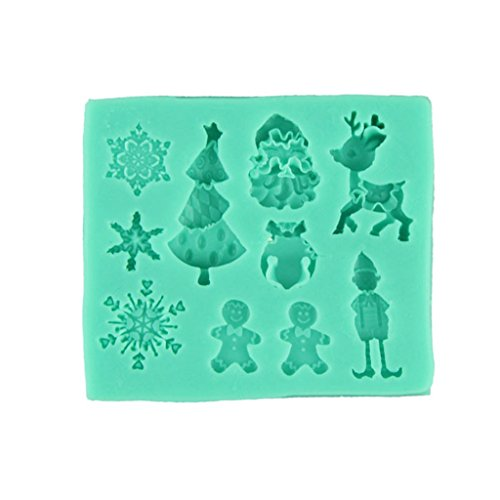 Anshinto 3D Crown Silicone Fondant Cake Molds Reusable Non-stick Soap Chocolate Mould (02)