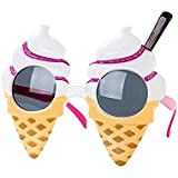 Talking Tables Allsorts Ice Cream Shaped Sunglasses for a Summer Party or Festival