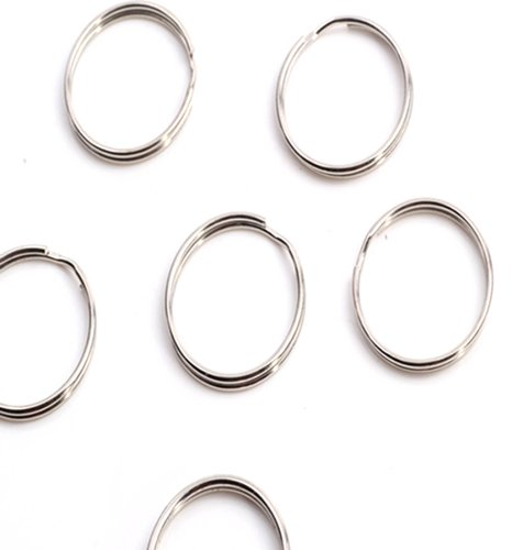 Thin Round Split Keychain Finding product image