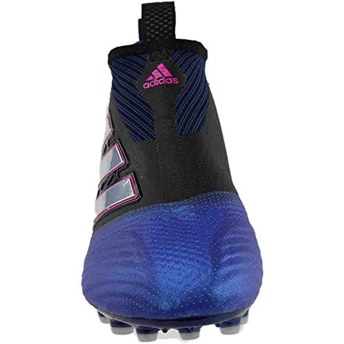 clearance official site outlet order adidas Ace 17+ Purecontrol AG Cleat Men's Soccer Core Black-white-blue get to buy with paypal low price sEEXaH6sUI