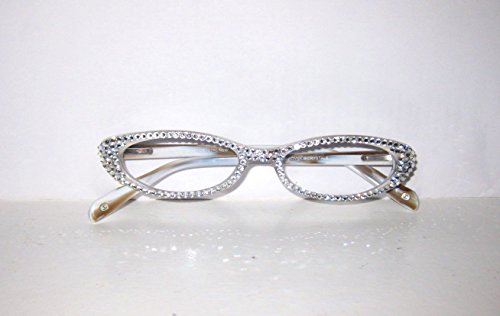 Jimmy Crysta of NY Reading Glasses with Swarovski Elements Small Frame - Glasses Ny