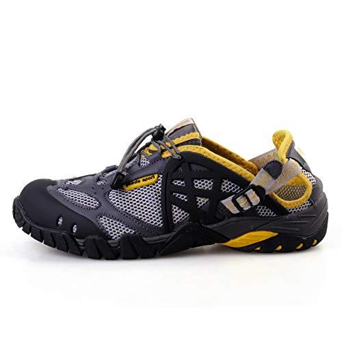 XJWDNX Men Outdoor Sneakers Breathable Hiking Shoes Big Size Men Women Outdoor Hiking Sandals Men Trekking Trail Water…