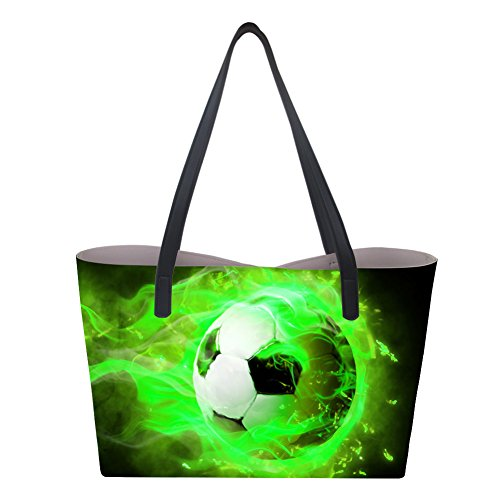 Large de Bolso Soccer Showudesigns asas mujer para 2 gXqwg5Hd