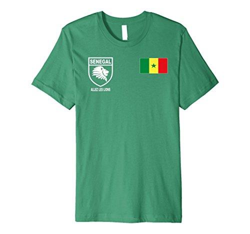 Senegal Futbol Soccer Jersey Tshirt