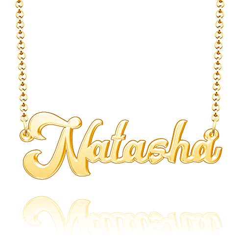 Moonlight Collections Nicole Custom Name Necklace Personalized Gift