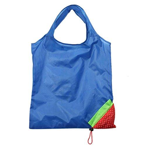 Reusable Handbag Reusable Bags B Strawberry Fashion Bag Foldable Shopping Cute Eco Tote Bag Hunpta F0wgY