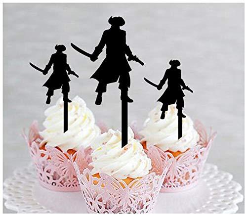 Decoración para cupcakes, aniversario, boda, cumpleaños ...
