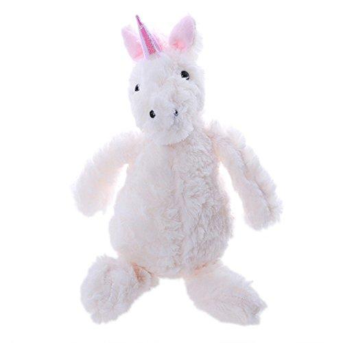 ODN Plush Stuffed Toys Unicorn Plush Toys for Kids Big Size Animal Dolls Horse Soft Birthday Gift