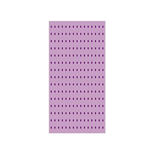 3D Decorative Film Privacy Window Film No Glue,Mauve,Retro Polka Dots Background Nostalgic Stylized Feminine Girls Fashion Artsy Pattern,Plum Lilac,for Home&Office (Fashion Plum Pet)