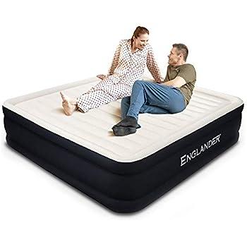 Amazon.com: Colchón de aire inflable Air Mattress con ...
