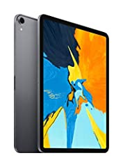 The new 11-inch iPad Pro features an advanced Liquid Retina display that goes edge to edge. Face ID, so you can securely unlock iPad Pro, log in to apps, and pay with just a glance. The A12X Bionic chip is faster than most PC laptops and easi...