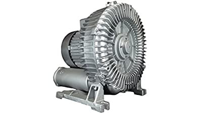 "AIR-319: 11.50HP Three Phase 230/460VAC - REGENERATIVE BLOWER: Max Flow: 399CFM, Max Press: +177""H20, Max Vac: -141""H20, 2.50"" Threaded NPT Connections"