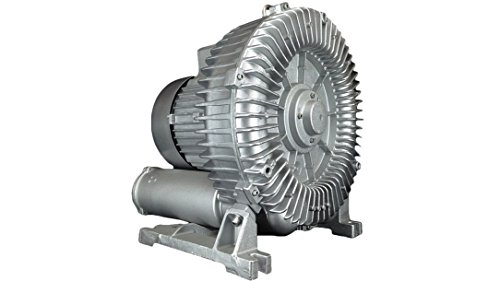 AIR-319: 11.50HP Three Phase 230/460VAC - REGENERATIVE BLOWER: Max Flow: 399CFM, Max Press: +177''H20, Max Vac: -141''H20, 2.50'' Threaded NPT Connections by Airadyne