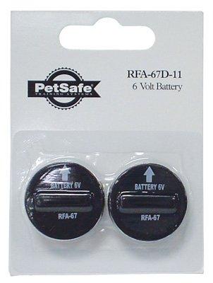 (Pet Safe 6 Volt Lithium Battery 6 V Lithium Ion Blister Pack Pack / 2)
