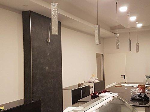 Lampadario sospensione per isola cucina bancone metallo colore