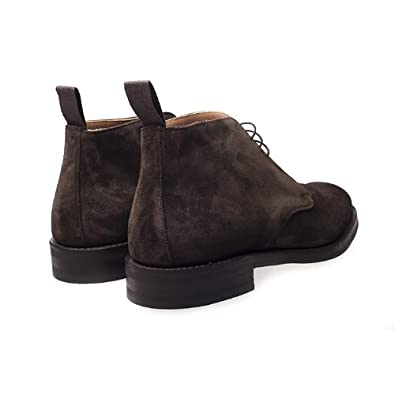 abac831dc044 Cheaney Jackie III R Brown Suede Chukka Boots for Men (UK8.5 / EU42.5):  Amazon.co.uk: Shoes & Bags