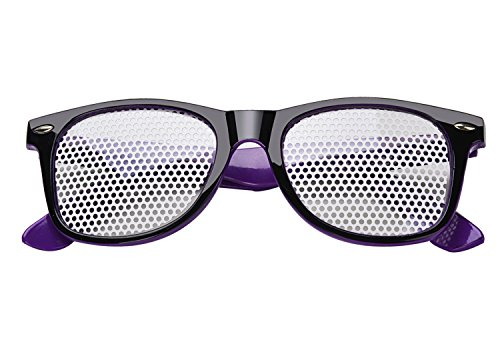 Ocular Fansport Gafas Black 1 Gafas de Protección de Corrección Cuidado de de Vista Pair Purple La and Visual Gafas zRzWrfwgq