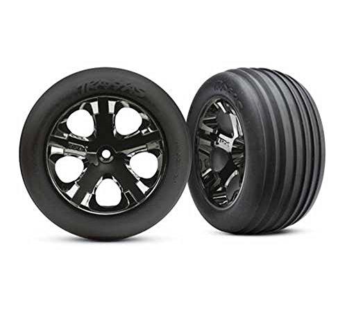 Traxxas 3771A Alias Ribbed Tires Pre-Glued on 2.8