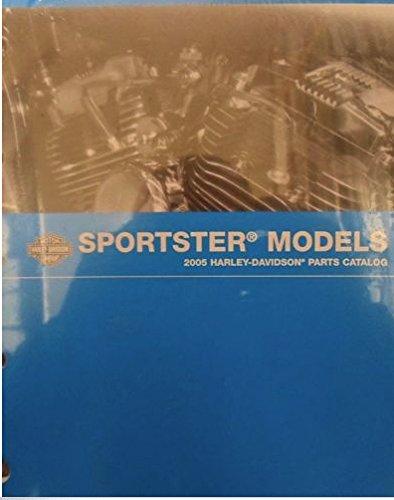 Harley Parts Catalog - 2005 Harley Davidson Sportster Shop Repair Service Manual and Parts Catalog Set