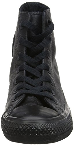 Adulto Sneaker Suede Star Leather Hi Converse Nero unisex xcwqafYSn8