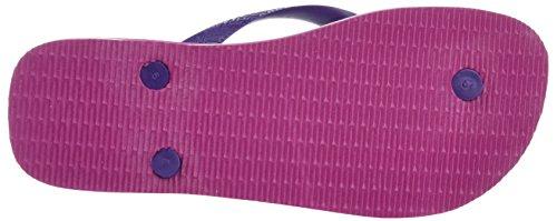 Havaianas Purple New Flip Kids Brasil Flops Rose Logo Raspberry aB8arnwq