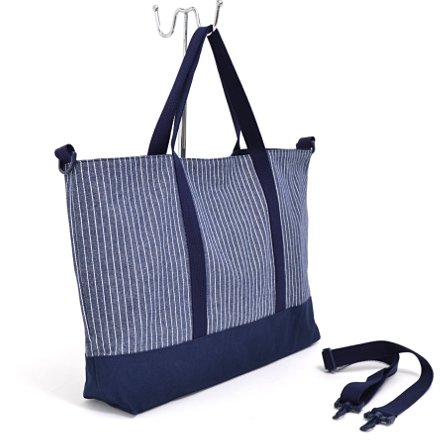 Gusset Lektion Tasche Nadelstreifen Indigo in Japan N0908200 der Mode-Kids (Japan-Import) gemacht