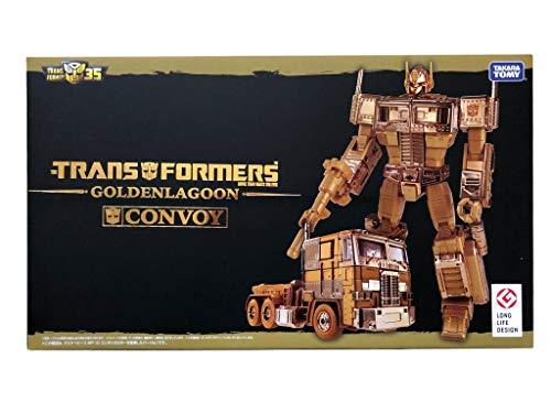 Takara Optimus Prime - TAKARA TOMY Transformers 35TH Anniversary MP-10G Gold Lagoon Optimus Prime