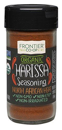 Frontier Organic Seasoning, Harissa, 1.9 Ounce